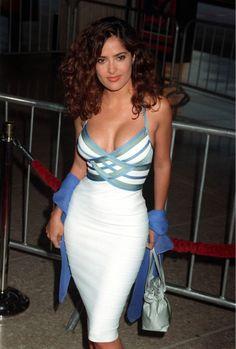 Salma Hayek - Most Beautiful Girls Salma Hayek Joven, Salma Hayek Young, Salma Hayek Body, Selma Hayek, Beautiful Celebrities, Beautiful Actresses, Most Beautiful Women, Curvy Celebrities, Beautiful Curves