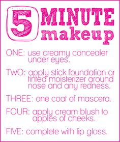 SCHOOL makeup is what it should be called!