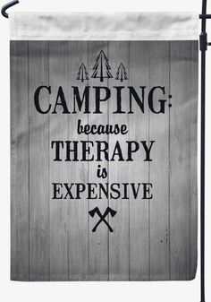 Camping is my Therapy - madefreshtees