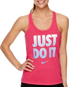 This tank might just motivate you to get out of bed and — dare we say it — just do it. Nike Racerback Tank Top ($20, originally 25)