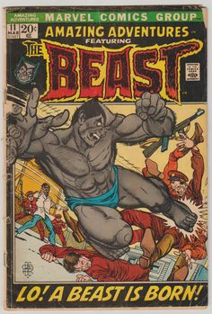 Amazing Adventures Vol 2 11 Bronze Age Comic by RubbersuitStudios #amazingadventures #beast #comicsforsale