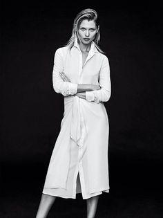 Hana Jirickova Pose in Bergdorf Goodman 2015 resort collections Photoshoot