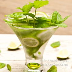 The Secret to Memorable Mojitos-Good Rum, Zesty Mint, Fresh Limes -