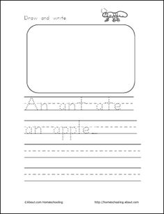 how to teach a child to write the letter s