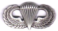 Basic US military jump wingsmy Dad earned these wings in the 11th Abn Division at Fort Campbell, KY.