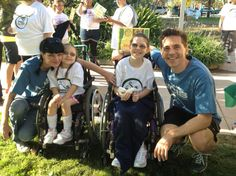Pauley Perrette, Grand Marshall, and Brian Dietzen at the 2012 Shane's Inspiration Walk & Roll. Both took time out of their #NCIS shooting schedules to help raise funds for inclusive play.