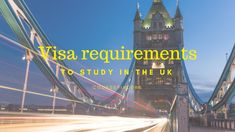 Visa requirements to study in the UK - find out more about learning languages and studying abroad on www.coursefinders.com
