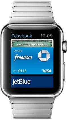 Apple Watch: Passbook: Scroll