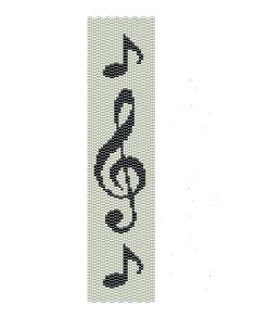 Music Peyote Pattern