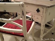 The Concrete Cottage: Vanity Makeover with Annie Sloan Chalk Paint