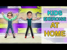 Best Kids Exercise Video Workout At Home in 2020 (With images) Physical Activities For Kids, Movement Activities, Physical Education Games, Summer Activities For Kids, Music Education, Health Education, Yoga For Kids, Exercise For Kids, Kids Workout
