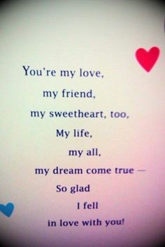 Made this for you my love. ♥♥♥♥♥ Love that babygirl.♥♥♥♥ I love you Karin! ♥♥♥♥♥♥♥ I love you Neil! Cute Love Quotes, Romantic Love Quotes, Love Yourself Quotes, Love Poems, Love Quotes For Him, Inspirational Quotes About Love, The Words, Girlfriend Quotes, Boyfriend Quotes