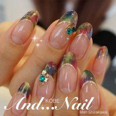 ★大人パーティーネイル★ の画像 ★白川麻里★神戸☆ネイルサロンAND...NAIL(アンドネイル)MARIのブログ Gel Nails, Acrylic Nails, Manicure, Nail Envy, Nail Treatment, How To Do Nails, Pretty Nails, Nail Art Designs, Sparkle