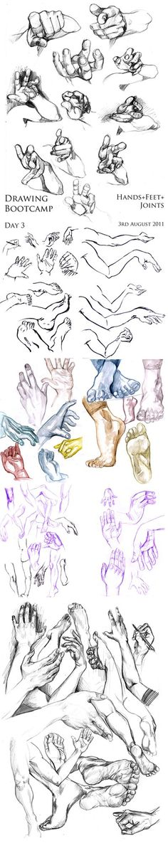 3-Aug-2011. Hands+Feet+Joints by Kayla0