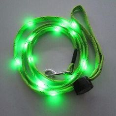 LED Flashing Dog Leash, Reflective Pet Product for Safety with LED Light