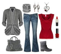 """Gray and Red!"" by masilly1 ❤ liked on Polyvore featuring Heaven Sent, Neu Aura, Daytrip, Coast, Balenciaga, Wet Seal, Shameless, Diego Dalla Palma and Mimco"