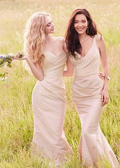Bridesmaids and Special Occasion Dresses by Jim Hjelm Occasions - Style jh5559 (left) and 5567 (right)