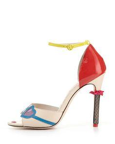 20590c41891 Alice + Olivia Stacy tobillo Bomba Cara Correa (1). Fashion CatalogueFashion  HeelsAlice ...
