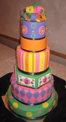 most fun cake ever! by coleyscakes.com