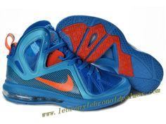 finest selection 4b79c d8fc0 Nike LeBron 9 P.S. Elite Shoes Blue Orange Hot Nike Lebron, Lebron 9 Shoes,