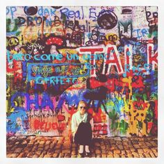Lennon wall, Prague spring 2012. a search well worth it