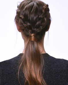 This Dutch Braid Ponytail Is Way Easier Than It Looks | allure.com