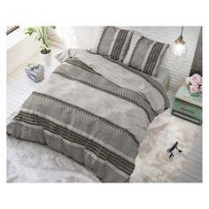 River Stripe Taupe 240 x 220 Katoen - SpeelgoedFamilie. Comforters, Stripes, Blanket, Home, Website, Design, Creature Comforts, Blankets, Ad Home