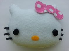 Hello Kitty Tooth Pillow by RaisinFran on Etsy
