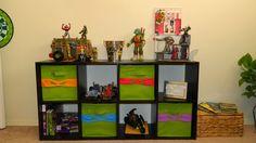 Teenage Mutant Ninja Turtle bedroom: TMNT