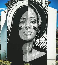 """black or white"" by @huariu in #cascais #portugal #art #streetart #contemporaryart #street #streetphotography ..."