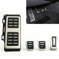 Pedals Fit For  VW Golf 7 VII GTi MK7 Seat Leon Octavia A7 Rapid Audi A3 8V Passat VIII Foot Fuel Brake Clutch Cover Accessories
