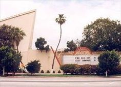 Marquee with Movie Screen - Foothill Drive-in Theatre Azusa, CA - 11th stop