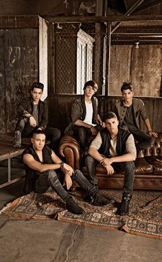 This group came together after winning a singing competition created by Simon Cowell...E! So late...already a fan..great music!!