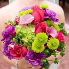 decorazioni matrimonio verde acido fucsia - Cerca con Google  addobbo ...