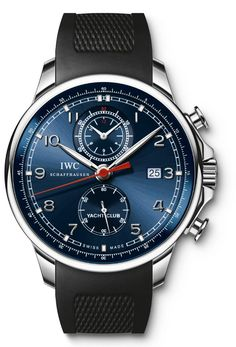 IWC - Yacht Club Chronograph Laureus watch. | mens fashion, mens style.