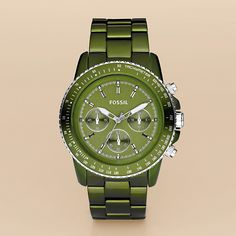 love the color - Fossil watch