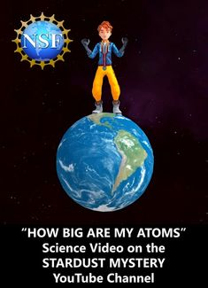 The Cosmic Kids find out how big atoms are by making Milo's atoms the size of sand grains. Milo becomes as big as planet Earth because sand grains are about six million times bigger than atoms. #Middle School Science, #Science Videos, #Atoms, #STEM Learning, #Middle School STEM, #STEM Videos, #Science for Kids, #STEM for Children, #STEM for Girls, # FREE Science Learning Science Education, Teaching Science, Science Videos, Short Stories, Middle School, Storytelling, Mystery, Channel, Stem Learning