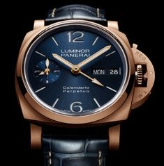 *Blog Update - Read iN!* #Panerai 44mm Luminor Perpetual Calendar⌚️ Available iN Platinumtech™ and Goldtech™ * xxx/100 Limited Editions...🎉