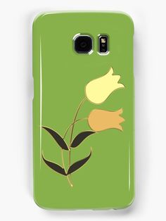 Golden_tulip on greenery green. • Also buy this artwork on phone cases, apparel, stickers, and more.
