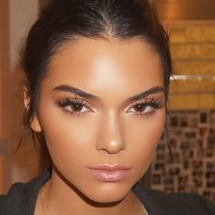 Kendall Jenner – 'Paper Towns' Screening in West Hollywood @esteelauder #beauty #makeup #strobing