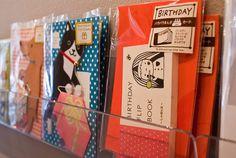 New adorable greeting cards at Omoi Zakka Shop in Philadelphia~
