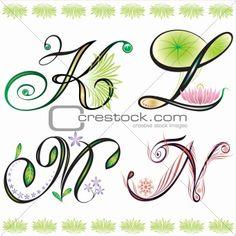 Alphabet Drawing, Doodle Alphabet, Drawing Letters, Doodle Art, Letter K Tattoo, Paisley Doodle, Scribble Art, Doodle Lettering, Typography
