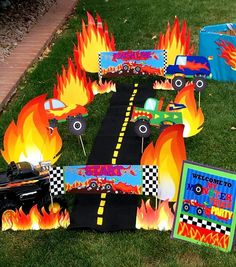 Welcome to Krown Kreations & Celebrations! All Monster Trucks need to be carefully checked to be sure they are running correctly. Be sure and get tuned up with Spare Tires, Dirt cups, Mud Sticks or an