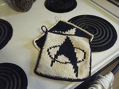Ravelry: Star Trek Pot Holders pattern by Ilana MacDonald
