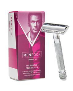 The Safety Razor, also known as the double edged razor, truly is a time-honored classic.    This safety razor is crafted with solid steel leaving a classically cool finish.    Why on earth would you buy some expensive 8 bladed disposable monstrosities when a single bladed razor will do an even better job?