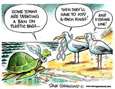 Plastic is choking our planet!