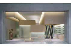 Asta Aveda interior design shop in Tokyo Talented designer works… Retail Interior Design, Retail Store Design, House Design Pictures, Modern House Design, Commercial Design, Commercial Interiors, Retail Architecture, Shop Interiors, Booth Design