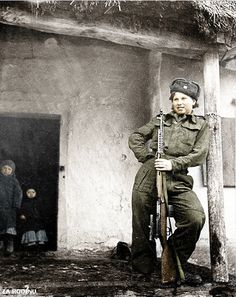 Female Czech sniper ww2