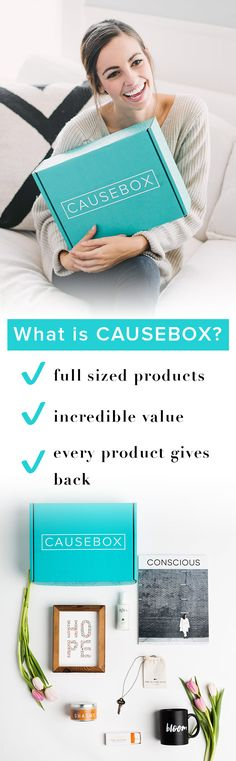 CAUSEBOX is changing the way people shop. Check out the amazing products that make up our Winter and Spring boxes—not only do you get great value, but you also get the peace of mind knowing your purchase improved lives all over the world.