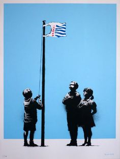 "Banksy ""Very Little Helps"""